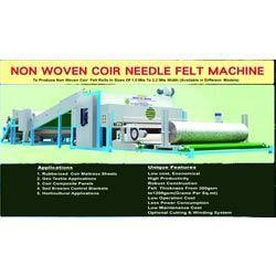 Coir Needle Felt Machine