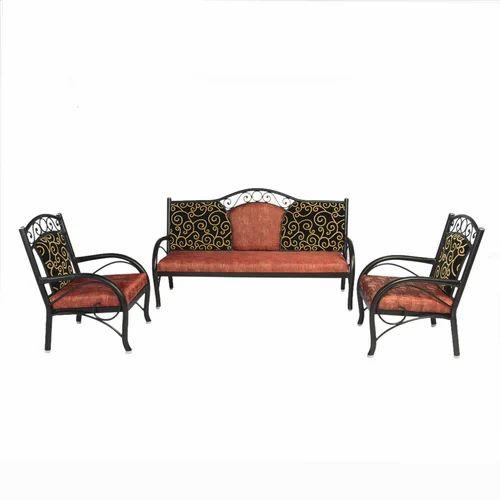 Wrought Iron Sofa Set Metal Sofa Set 3 1 1 Sf 24 Manufacturer