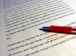 Copy editor services