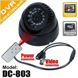 CCTV Camera with Memory Slot