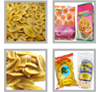 Fresh Banana Chips Snacks Production line