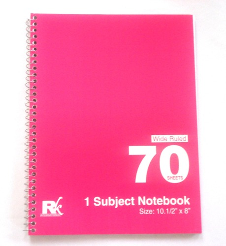 One Subject Book