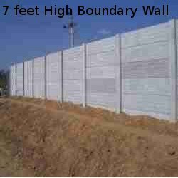 High Boundary Wall