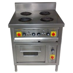 Four Hob Electric Stove with Oven