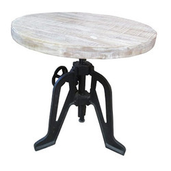 Industrial Dining Table Round