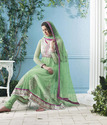 Exclusive & Gorgeous Jade Green Salwar Kameez