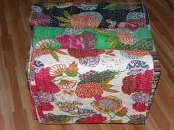 Floral Print Quilt Designer Bedding Throw Quilt