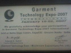 Garment Technology Expo 2007 International