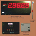 GSM Based Water/OIl Level Indicator & Controller