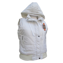 Sleeveless Zipper Jacket