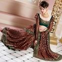 Embroidery For Bridal Sarees