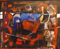 Achutan+Kudallur+%28+Acr+On+Canvas+%29+Paintings