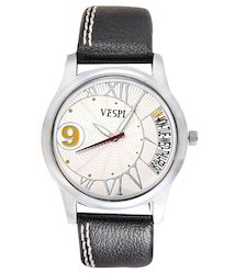 VESPL Modish White Dial Analog Men's Watch-VS133