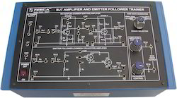 bjt amplifiers and emitter follower trainer