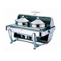 Steel Rectangular Roll Top Soup Station