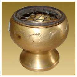 Goblet Dhoop Burner with Jali Top