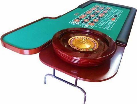 Folding Roulette Table