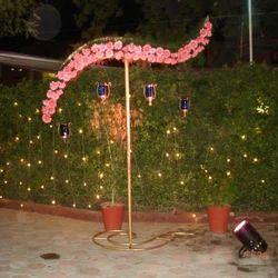 Outdoor Evening Wedding Decorations