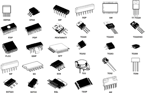 ics electronic component at rs 22   no s