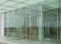 Acoustics on Existing Glass Doors - Garware Club