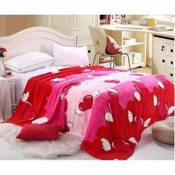 Colored Fleece Blanket