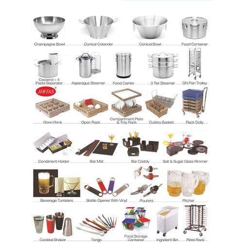 Catering Tools And Equipment And Their Uses : ... tools from radha krishan sons private limited modern kitchen tools