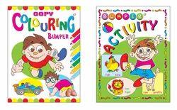 Bumper Colouring, Activity Book