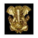 Ganesh Appu Shape Plain W/ 4 Arms