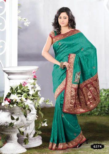 Western Silk Saree
