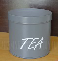 Metal Tea Box
