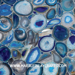 agate blue tile