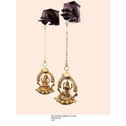 Wall Bracket Laxmi Ganesha Oil Lamp