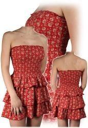 Women Printed Western Dress