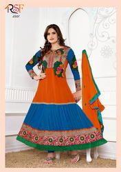 Embroidery Jacquard Salwar Suit