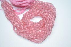Pink Mystic Quartz Faceted Rondelle