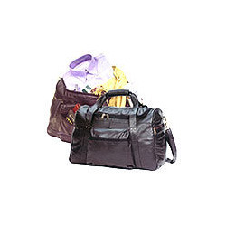 Black and Brown Designer Travel Bag