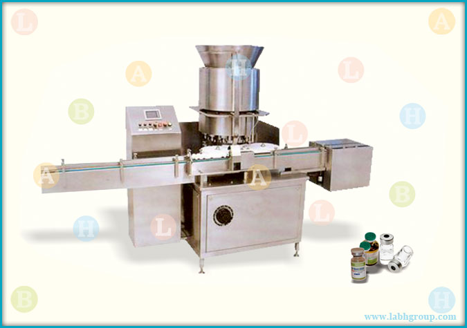 Automatic High Speed Vial Cap Sealing Equipment