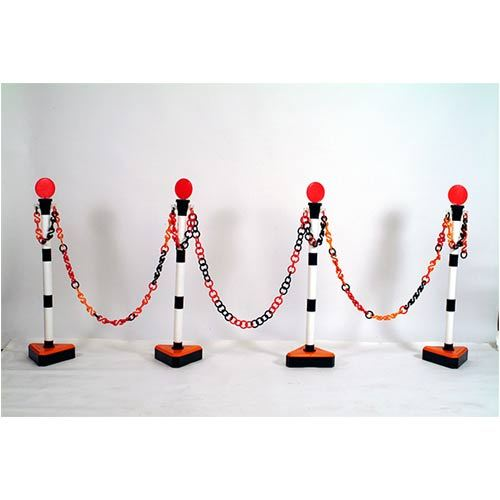 Plastic Chain & Stand poles