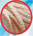 Flat Braided Cotton Wick