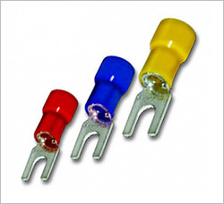 fork type double grip insulated lug