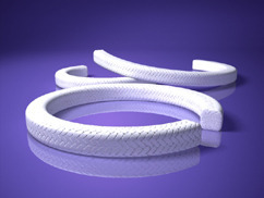 Expanded PTFE White Gland Packing