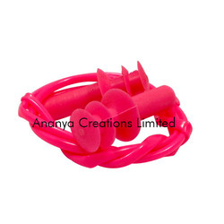 Silicone Swimming Ear Plug With Cord