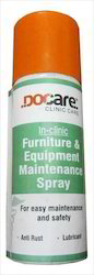 docare furniture and equipment maintenance spray