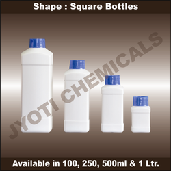 square shape bottles