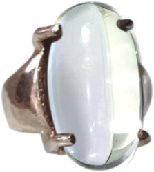 Sphatik or Crystal Banalingam Ring