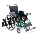 wheelchair detachable arm footrest