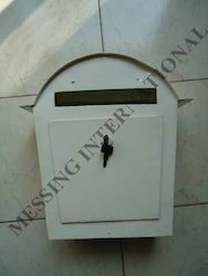 Iron Letter Boxes with White Powder Coating