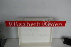 Acrylic Clip On Shelf Talker