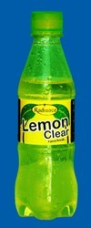 carbonated lemon soft drink