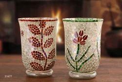 Flower Mosaic Lantern